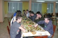 Turniej szachowy w Internacie