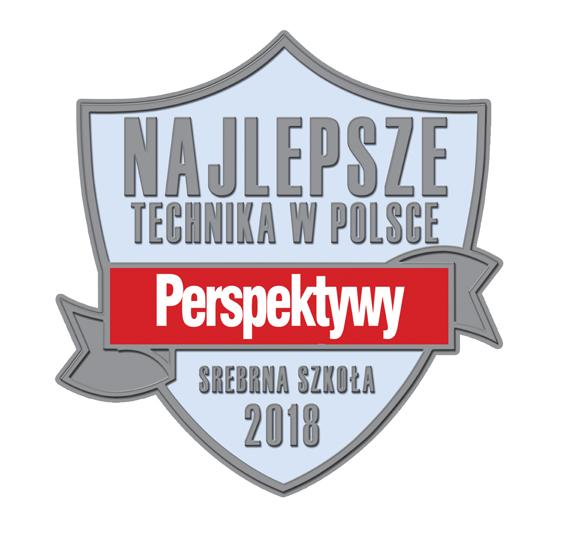 Srebrna Szkoła w rankingu Perspektywy 2018